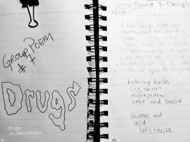 drugs group poem