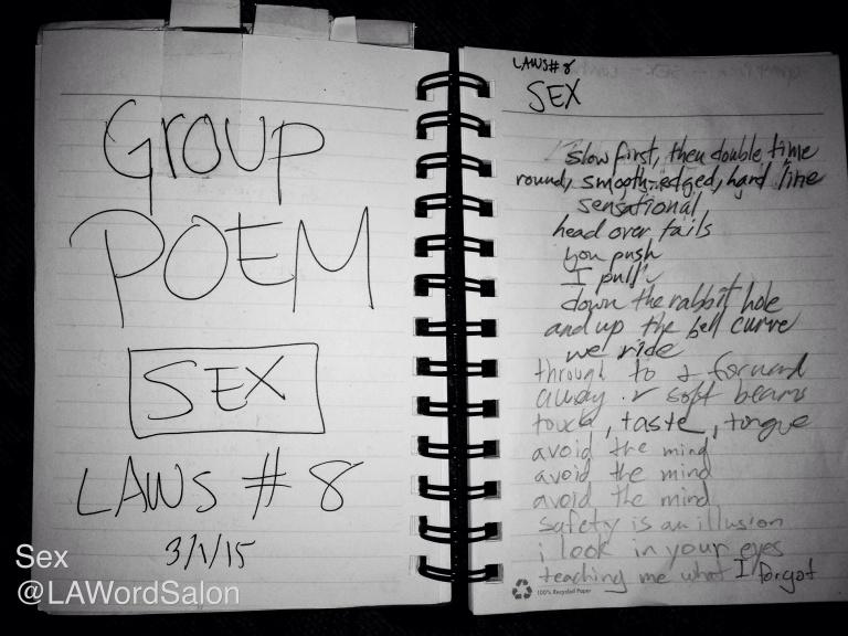 group sex poem