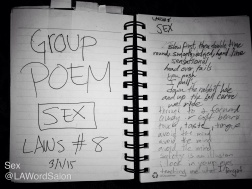 group sex poem