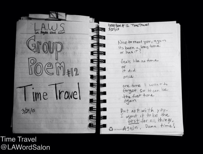 time travel group poem lawordsalon