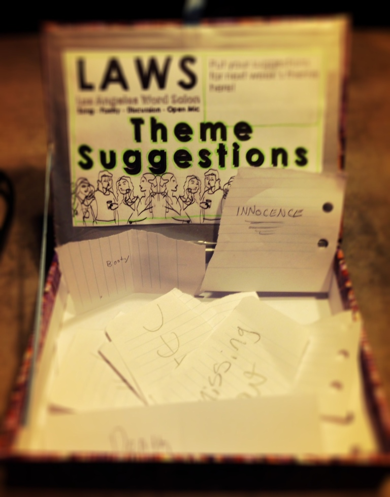 laws 13 theme suggestions