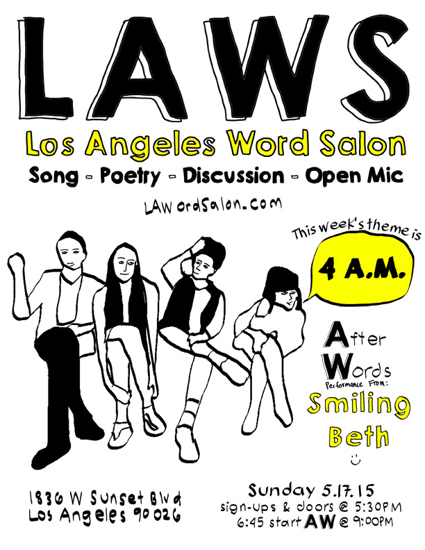 4am laws flyer smiling beth w