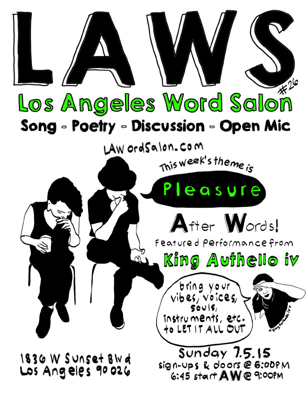 laword salon pleasure flyer