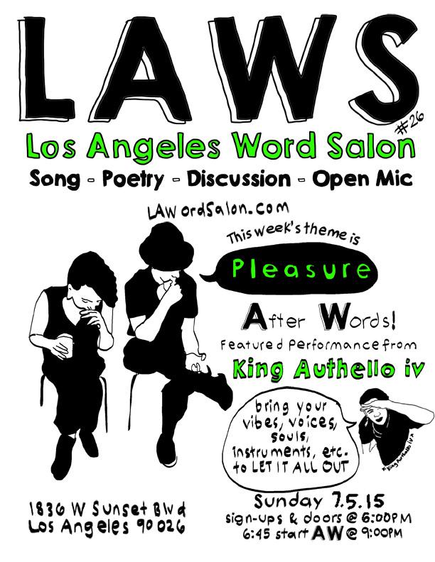 laword salon pleasure flyer