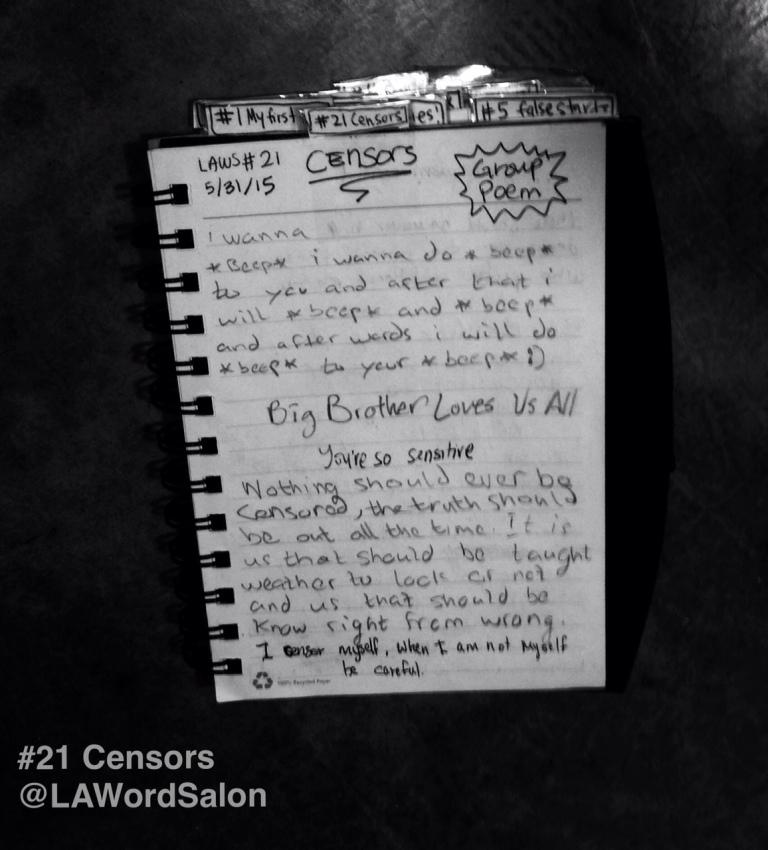 lawordsalon group poem censors