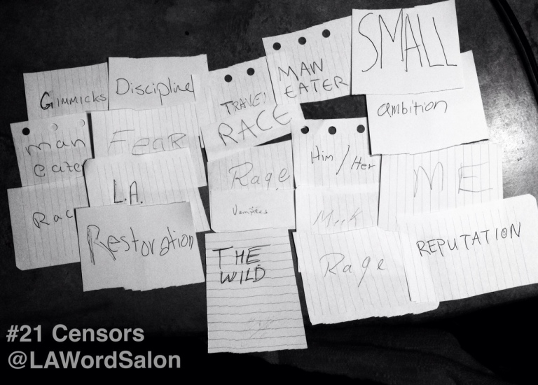 theme suggestions from censors LAWordSalon