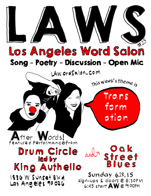 LAWordSalon Transformation Flyer