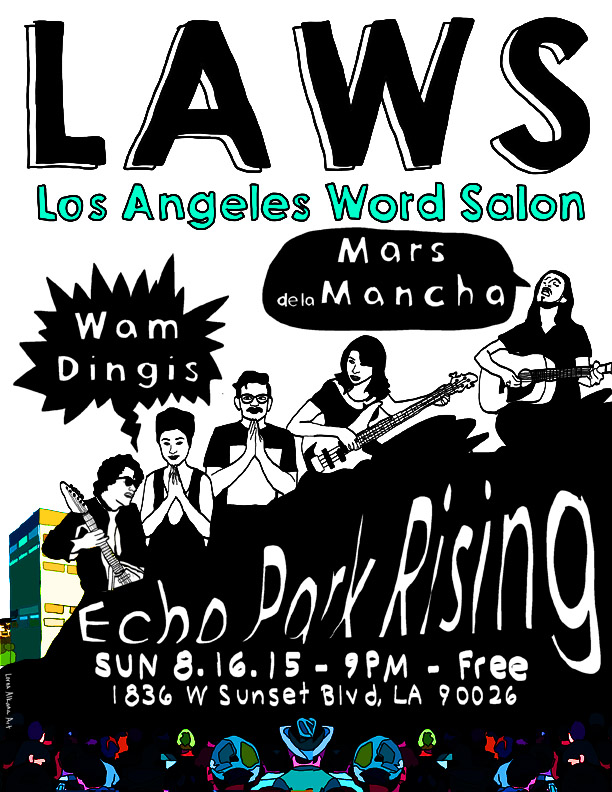 LAWordSalon Echo Park Rising