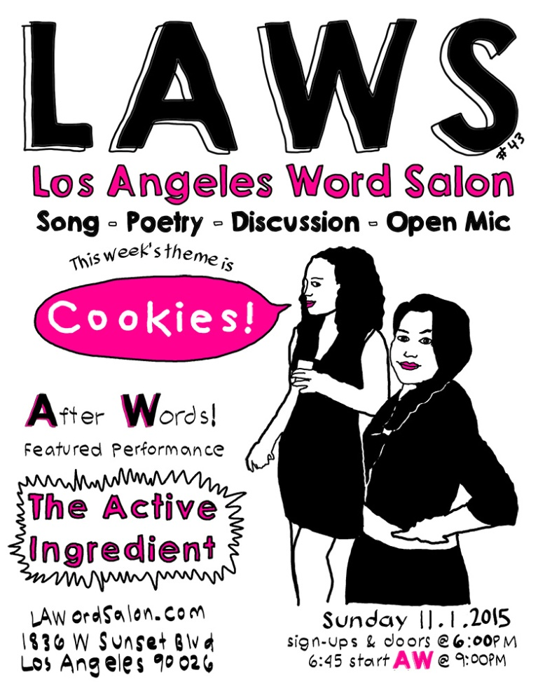 lawordsalon cookies flyer w