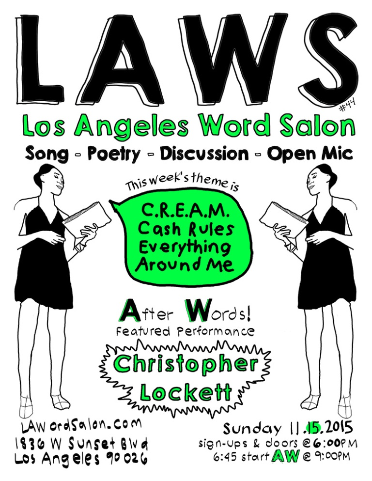 lawordsalon cream lockett flyer w